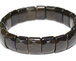 Golden Shine Obsidian Stone Bracelet 15 MM  179.25 cts