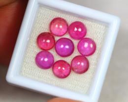 11.48ct Pink Ruby Cabochon Lot V2817