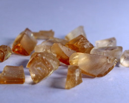 56.40 cts Beautiful, Superb & Stunning Orange Brown Topaz ROUGH LOT