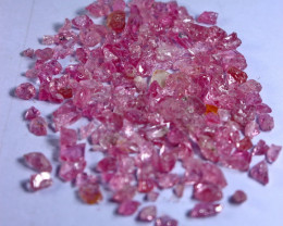 95.00 CT Natural - Unheated Pink Spinel Rough Lot