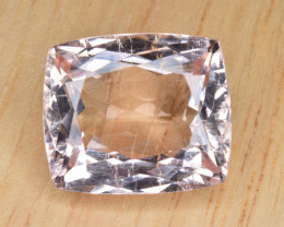 Natural Imperial Topaz 14.51 Cts Faceted Gemstone from Katlang, Pakistan