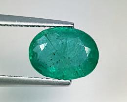 2.53 ct Top Green Gem Stunning Oval Cut Natural Emerald