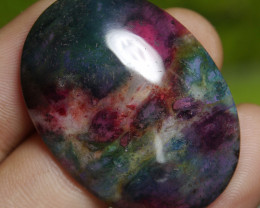 51.50 CT Beautiful Motifs Abstract Indonesian Agate