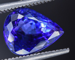 3.98 Crt Tanzanite  Faceted Gemstone (R57)