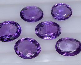 27.0 Crt Amethyst Parcels Faceted Gemstone (R57)