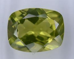 2.09 Crt  IGI Certified Peridot Faceted Gemstone (R57)