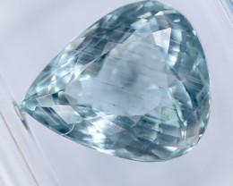 3.70 Crt IGI Certified Aquamarine Faceted Gemstone (R57)