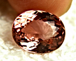 5.17 Carat Raspberry Pink VVS Tourmaline - Gorgeous