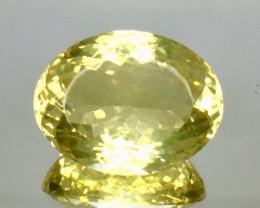 13.74 Crt Natural Lemon Quartz Faceted Gemstone.( AG 83)