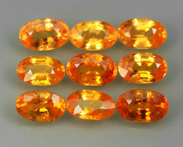 3.10 Cts_Oval Cut_Marvelous_Electric Orange_Africa_Sizzling_Spessarite_~