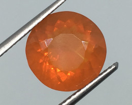 SALE ! 2.60 Carat VS Fire Opal - Untreated - Amazing Color and Quality !