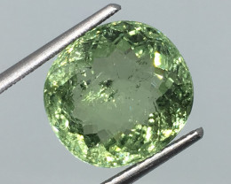 SALE ! 6.30 Carat SI Toumaline Mint Green - Unheated - Mozambique !