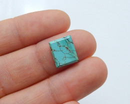 3.5cts Unique natural turquoise cabochon beads semi-gem (A518)