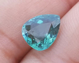NR 2.10  carats Blue color Tourmaline Gemstone From Afghanistan