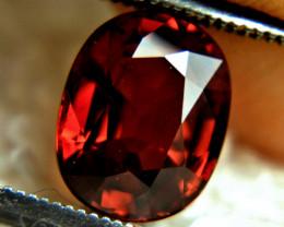 2.86 Fiery Red VS African Spessartite Garnet - Superb