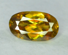 2.85 carats AAA Fire Sphene gemstone