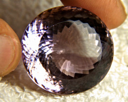CERTIFIED - 98.3 Carat Natural Bolivian Amethyst - Gorgeous