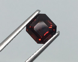 1.38 Carat VVS Cert. Spinel Red Untreated Exotic and Extremely Rare !
