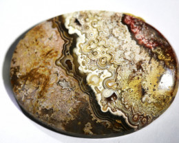 """37.40 carats Crazy Lace Agate """"Mexico""""  ANGC - 762"""