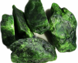 416.95 CTS CHROME DIOPSIDE SPECIMENS DEAL [F7785]