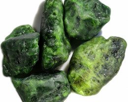 379.50 CTS CHROME DIOPSIDE SPECIMENS DEAL [F7788]