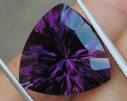 17.72cts, Amethyst,  Top Cut, Clean, Untreated, Concave