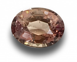 Natural Unheated Pinkish Orange Sapphire|Loose Gemstone|New