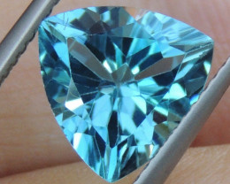 3.84cts, Blue Topaz,   Clean,