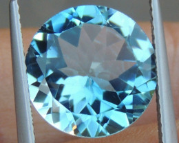6.46cts, Blue Topaz,   Clean,