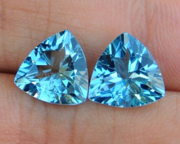 6.55cts, Blue Topaz,   Clean,