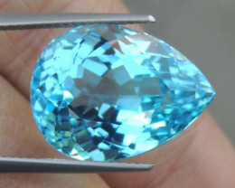 23.45cts, Blue Topaz,   Clean,