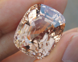 65.61cts Imperial Topaz From Burma,  Untreated,  Clean