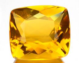 ~GORGEOUS~ 3.11 Cts Natural Orange Fire Opal Cushion Cut Mexico