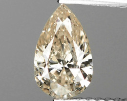 1.03 CTS UNTREATED NATURAL FANCY YELLOWISH BROWN COLOR LOOSE DIAMOND
