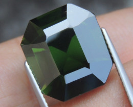 17.31cts,  Green Zircon, Eye Clean,