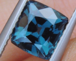 1.82cts,  Blue Spinel from Burma ,  100% Untreated,