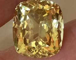 9.47ct Zesty Lemon Quartz VVS Stunning stone