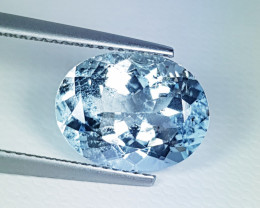 4.98 ct Exclusive Gem  Awesome Oval Cut Natural Aquamarine