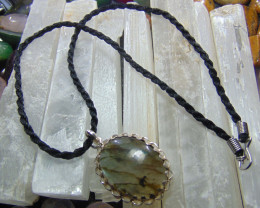 Labradorite jewellery designed pendent silver 45.50 cts
