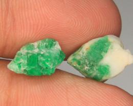 Swat Emerald Specimen Lot From Pakistan