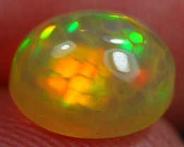 Opal Promo ~ 1.41Ct Bright Color Play Ethiopian Welo Opal R112