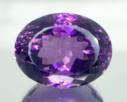 20.31 Crt Natural Amethyst Beautifulest Faceted Gemstone.( AG 84)