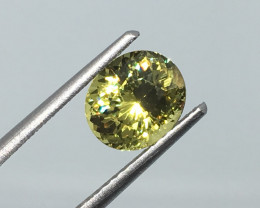 1.65 Carat VVS Mali Garnet Untreated Rare Quality and Flash Wow!