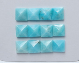 45.5cts Sale amazonite cabochon beads wholesale gemstone (A579)