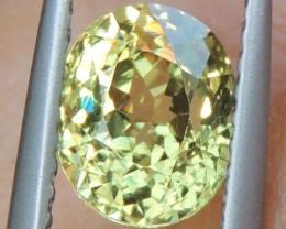 1.58cts Green Garnet,  untreated