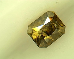 0.20ct  Fancy Deep grayish brownish Green Diamond , 100% Natural Untreated