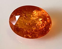 ⭐Fanta Orange Spessartite Garnet  No Reserve