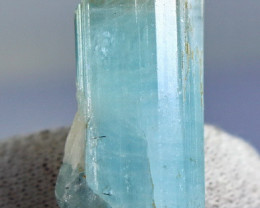 64.30 CT Natural & Unheated Sky Blue Aquamarine Mineral Crystal