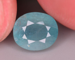 2Ct Incredible Color Natural Grandidierite Gemstone