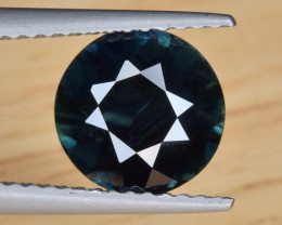 Natural Sapphire 2.43 Cts Greenish Blue from Madagascar